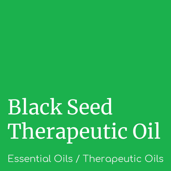 Black Seed Oil - Therapeutic Oils - Believe Botanicals