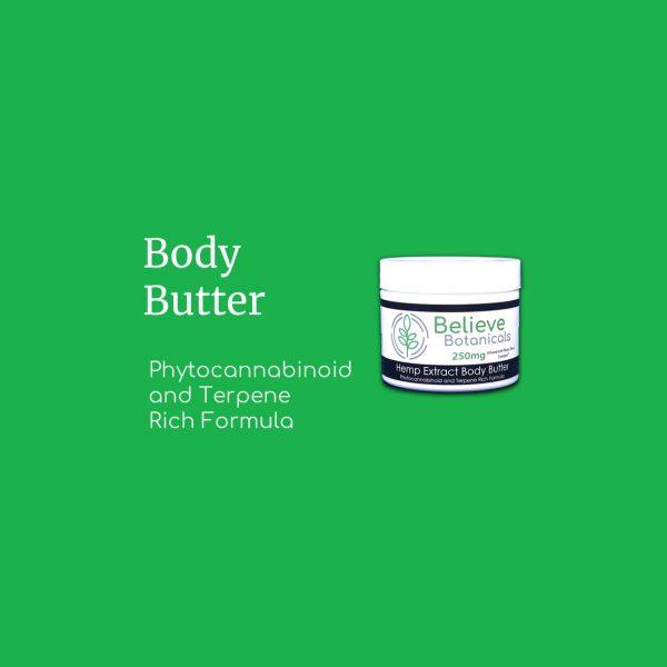 Body Butter - Believe Botanicals
