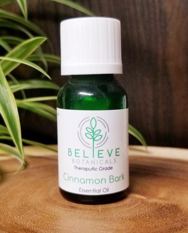 Buy Cinnamon Bark Essential Oil by Believe Botanicals