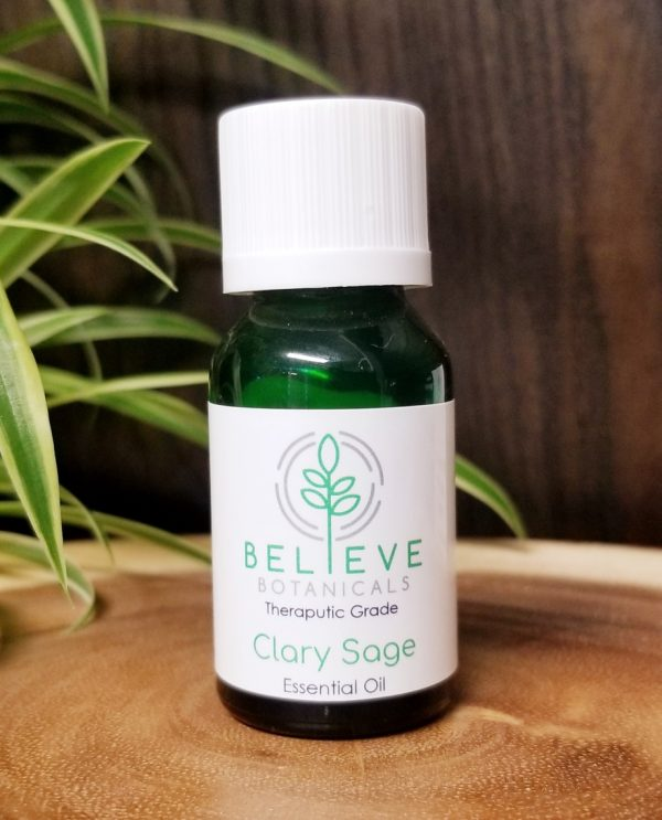 Buy Clary Sage Essential Oil by Believe Botanicals