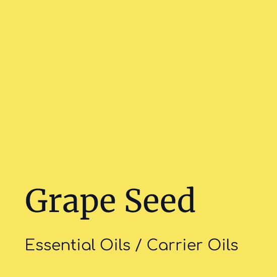 Grape Seed - Carrier Oils - Believe Botanicals