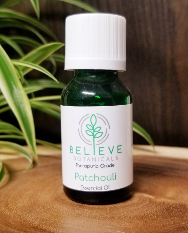 Buy Patchouli Essential Oil by Believe Botanicals